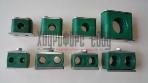 Единични и двойни скоби за хидравлични тръби