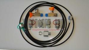 Контролни точки за измерване на налягане , адаптери за манометри