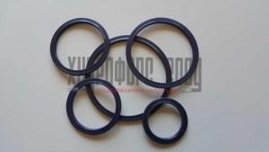 Уплътняващ  пръстен за фланцови съединения , трапецовидно сечение , NBR Viton